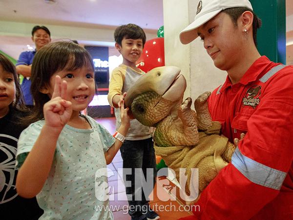 Dinosaur Hand Puppets