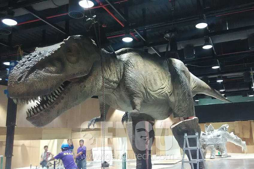 Dinosaurs Have Arrived In Taiwan
