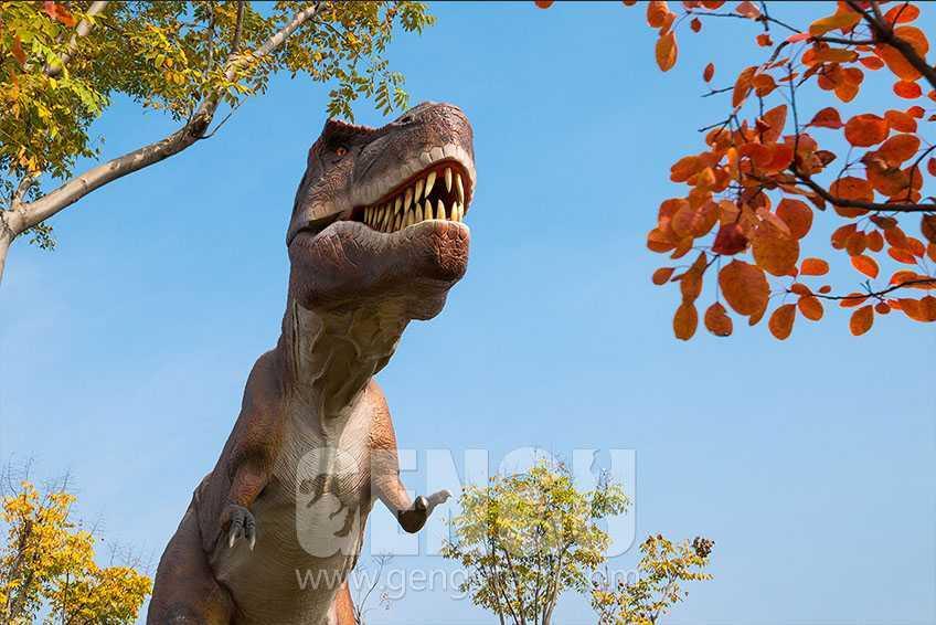 GENGU Dinosaurs In Linyi Dinosaur Park Exhibition