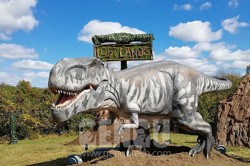 Ohio Lost Lands Music Festival & Gengu Animatronic Dinosaurs