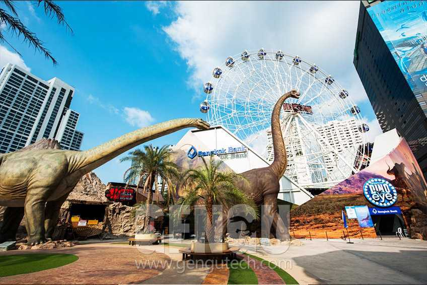 The Paradise For Dinosaur Fans-Dinosaur Park
