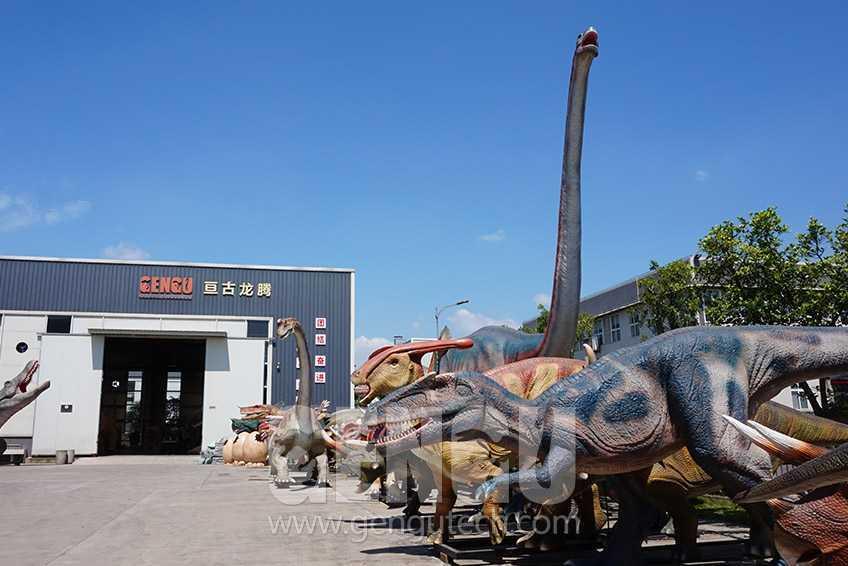 Made-in-China: Zigong Gengu Animatronic Dinosaur Manufacturer