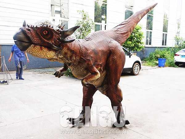 A Best Dinosaur Costume Show