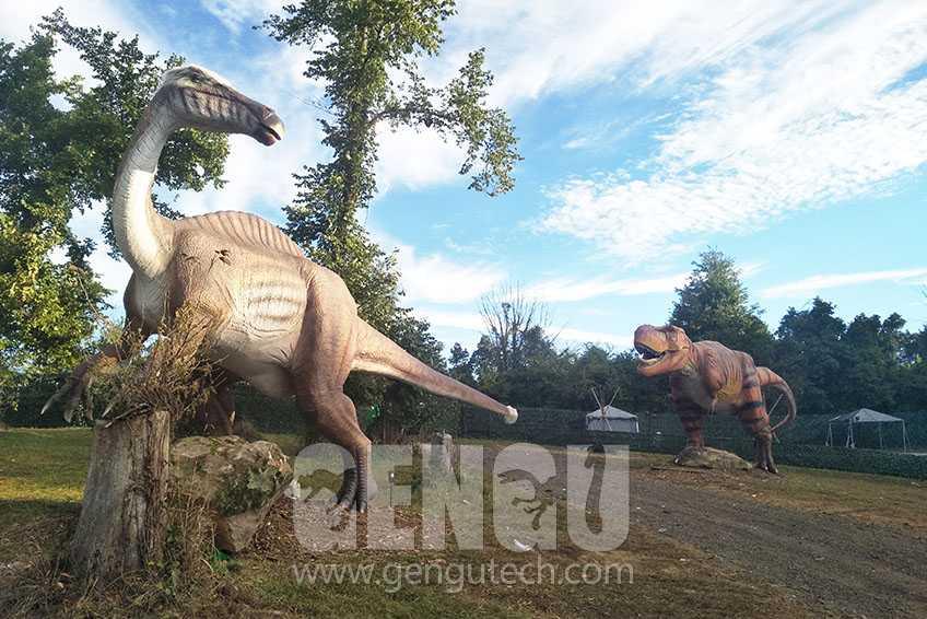 Method Of Making The Animatronic T-Rex Dinosaur