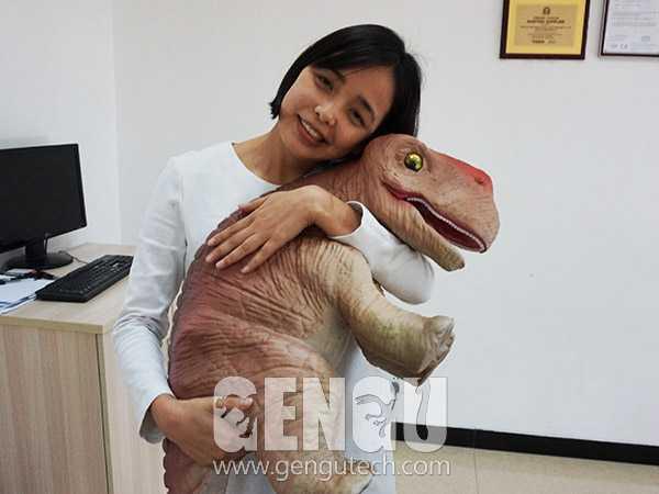 Gengu Animatronic Baby Dinosaur Hand/Arm Puppets