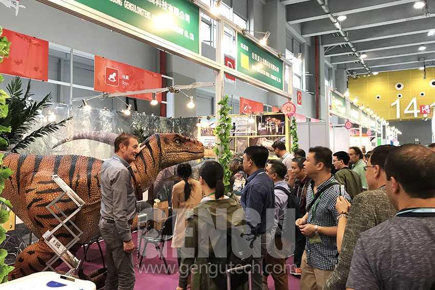 Gengu Dinosaurs will attend 125th Canton Fair 2019 April