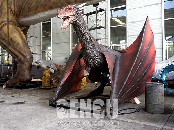 Animatronic Dragons Help You Win the Iron Throne