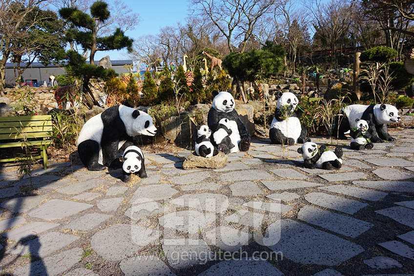 Amusement Park Equipment Animatronic Animals