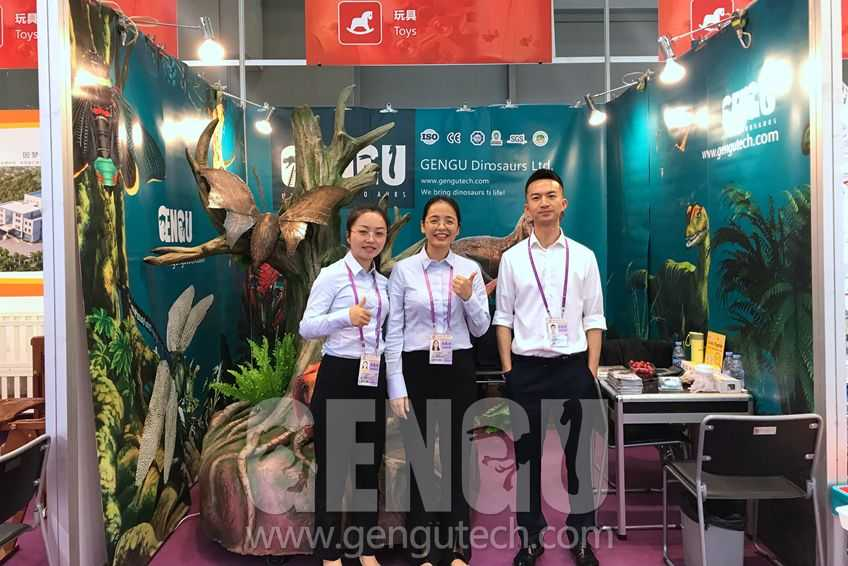 Gengu Dinosaurs will attend 126th Canton Fair 2019 October