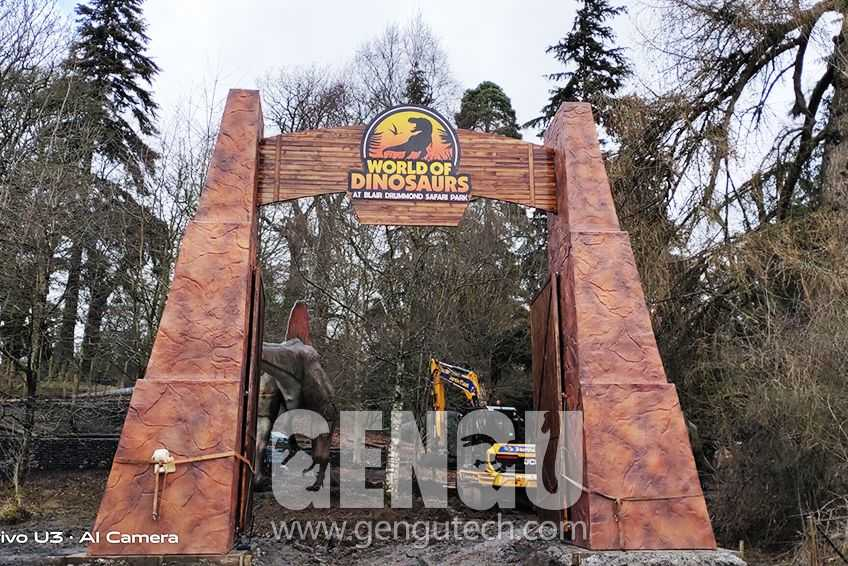 New Gengu Dinosaurs Project and Installation