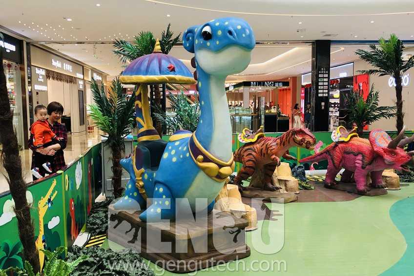 Shopping Mall Dinosaur Themed Children Playground
