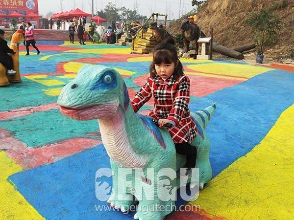 Slidable Dinosaur Rides(AR-120)