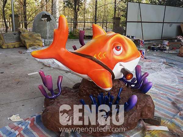 Fiberglass Cartoon Fish(FP-290)