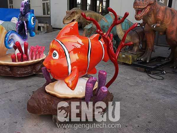 Fiberglass Cartoon Fish(FP-291)
