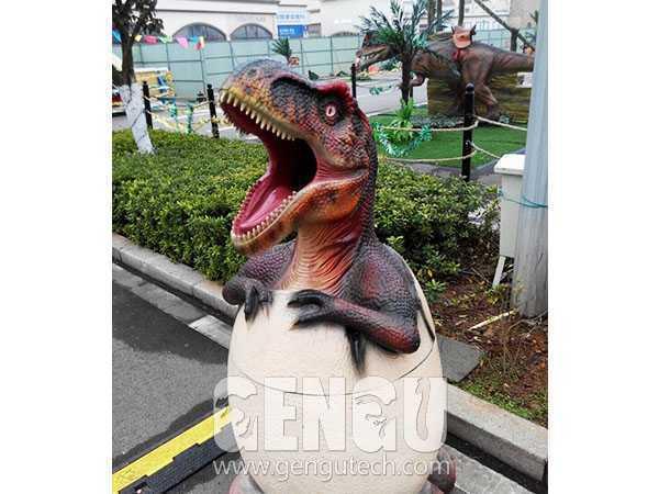 Fiberglass Dinosaur Bin(FP-317)