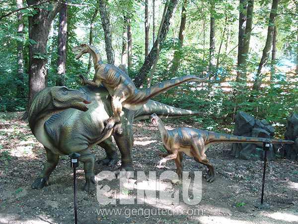Iguanodon&Velociraptor(AD-671)