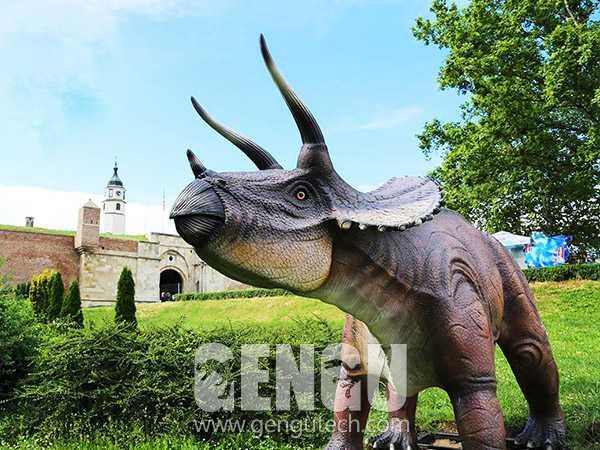 Fiberglass Triceratops(FP-956)