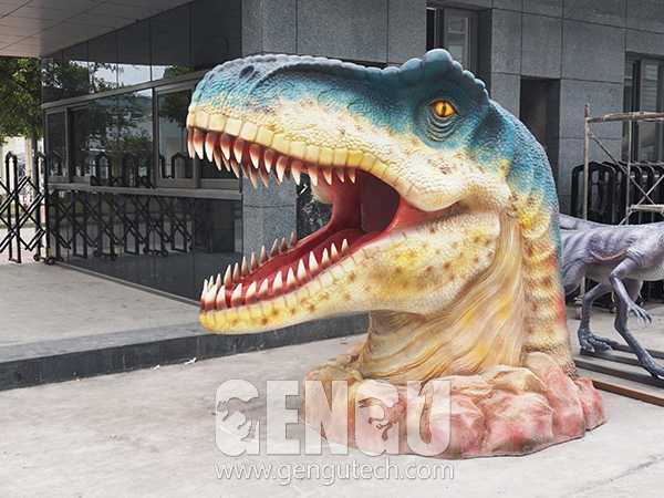 Fiberglass Dinosaur Head(FP-964)