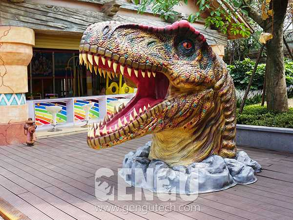 Fiberglass Dinosaur Head(FP-965)