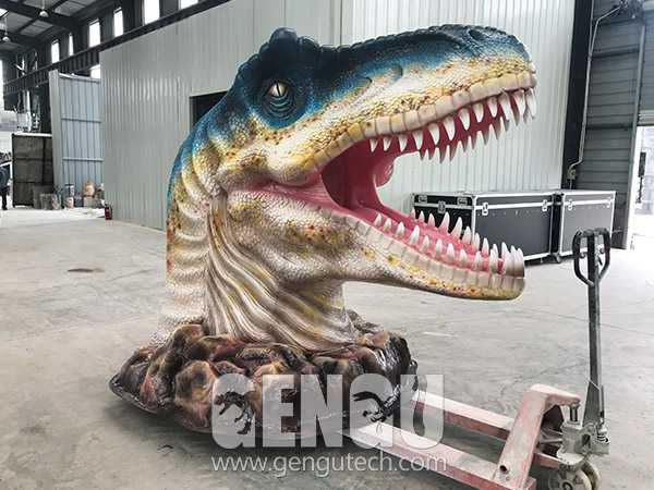 Fiberglass Dinosaur Head(FP-966)