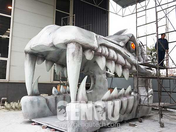 Fiberglass Dragon Head(FP-972)