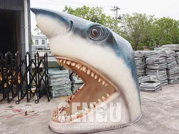 Fiberglass Shark Head(FP-1000)