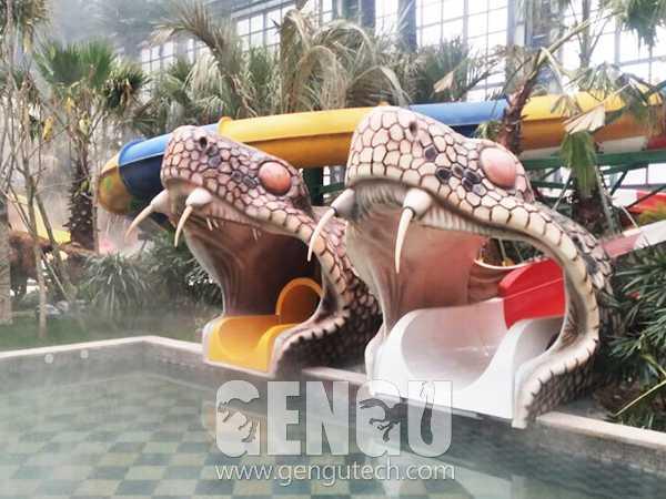 Fiberglass Snake Head(FP-1003)