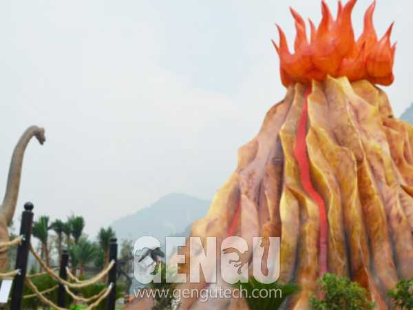 Fiberglass Volcano(FP-1004)