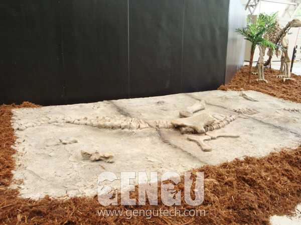 Dino Buried Statue(FP-1013)