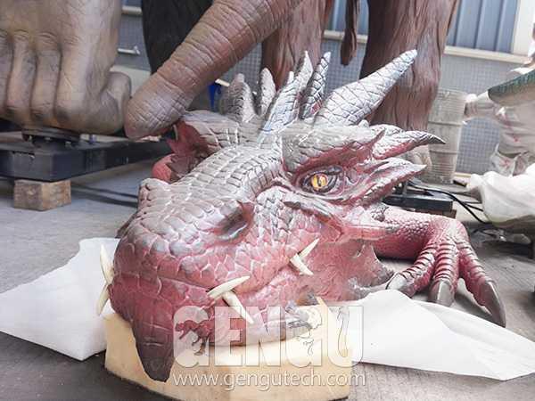 Animatronic Dragon Head(AG-1169)