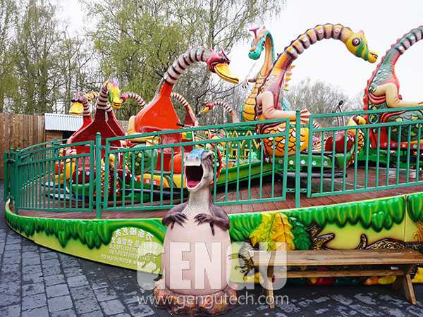 Fiberglass Dinosaur Bin(FP-1342)