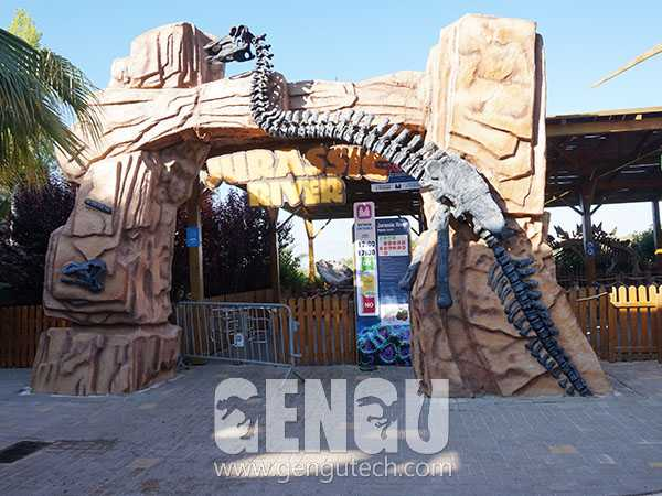 Fiberglass Dinosaur Door(FP-1343)