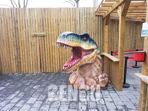 Fiberglass Dinosaur Head(FP-1346)
