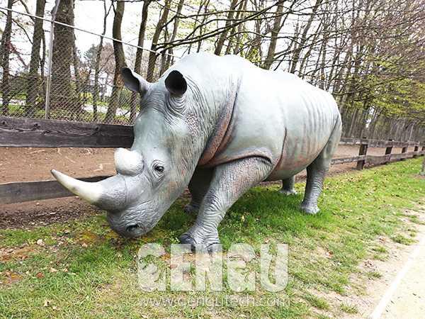 Fiberglass Rhinoceros(FP-1381)